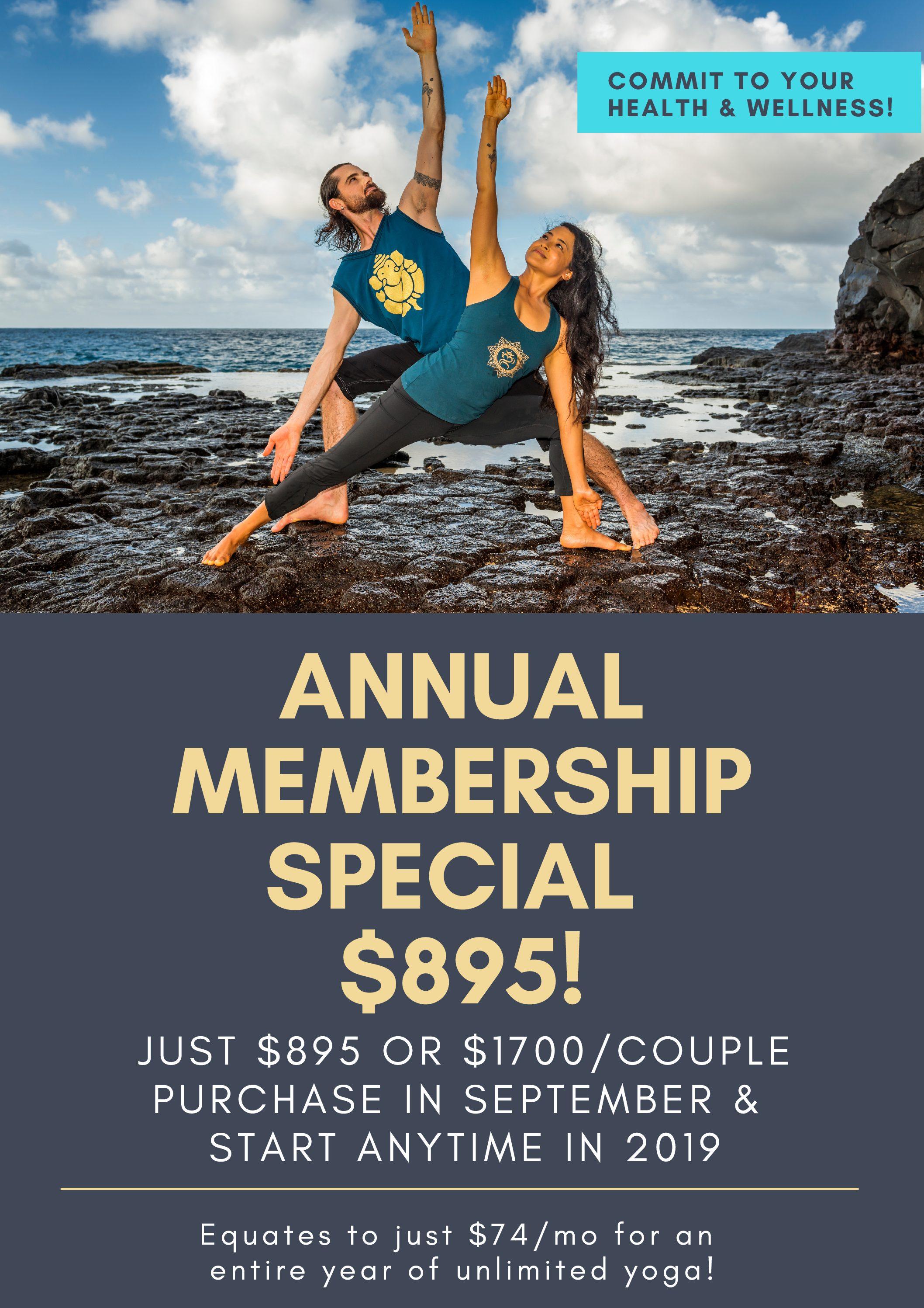 Annual Membership Special