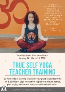 200 Hour Teacher Training @ True Self Yoga