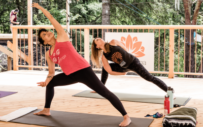 Outdoor Yoga!